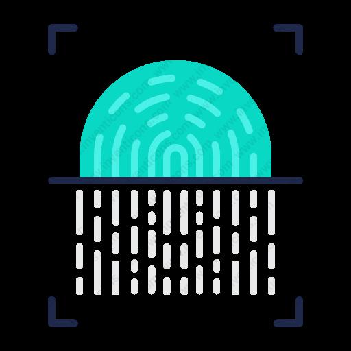 Download Fingerprint,Scanner icon   Inventicons