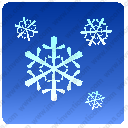 weather snow flakes conditionsvg