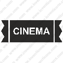 cinema seat card ticketsvg
