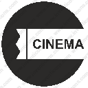 round label cinema ticket seatsvg