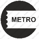 round label metro seat card ticketsvg