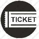 ticket card seat labelsvg