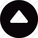 up arrow pyramid triangle interface