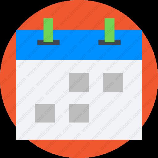 Calendar Date.Download Calendar Date Period Schedule Deadline Icon Inventicons