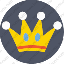 Crown diadem king empire