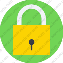 Lock secure security login locked