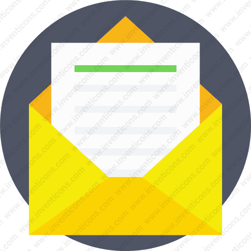 Download Envelope Letter Send Messege Read Icon Inventicons