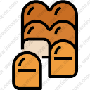 Bun bread foodrestaurant toast bakery roll food