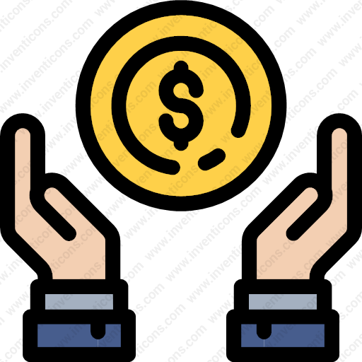 Download gesture,dollar,coin,sign,currency,payment icon   Inventicons