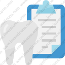 Dentist healthcare dental record medical