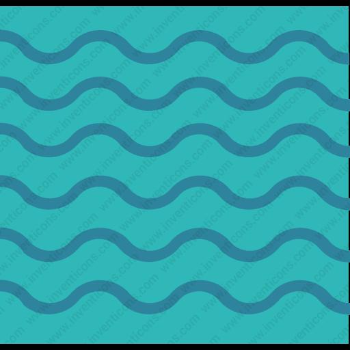 Download Wavy,river,calmsea,water,lake,weather,nature icon | Inventicons