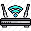 WiFiRouter WiFiSignal WirelessInternet Modem Connection Electronics Router