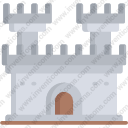 Fortress Monument Building City Fantasy Castle Medieval