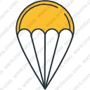 Game parachute play sport