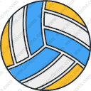 Olympics sport volleyball ball
