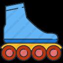 Download Roller Skate Roller Skating Skate Skating Vector Icon Inventicons