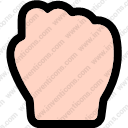 Fist gesture hand strength struggle guessing fist