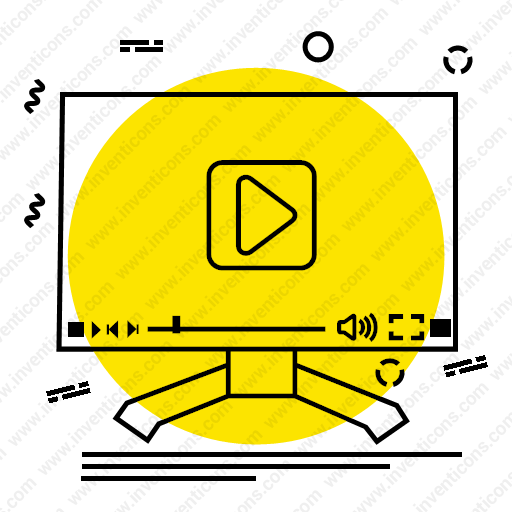 Download Video,Player,media,play,computer,multimedia icon | Inventicons