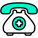 Download Emergency Call Vector Icon Inventicons
