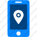Mobile Location Pin