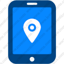Tablet Location Pin