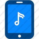 Tablet Music Note
