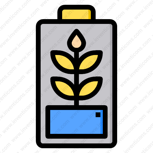 download eco battery vector icon inventicons inventicons