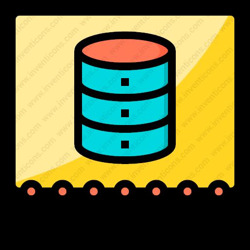 download data structure vector icon inventicons inventicons