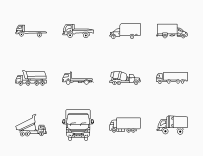 Heavy Vehicles Line Pack