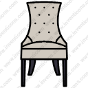 Hartley Chair with Buttons