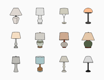 Interior Lamp Colour Pack