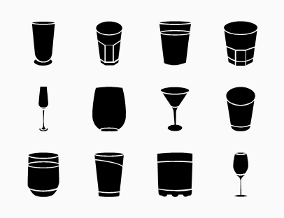 Drink Glasses Collection
