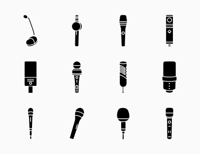Microphone Solid Pack