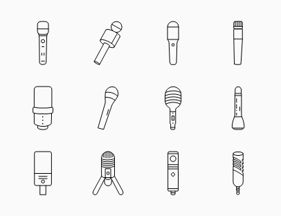 Microphone Line Pack