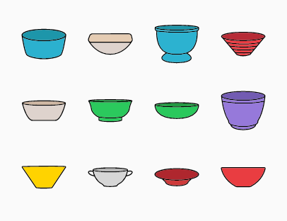 Bowls Colour Pack