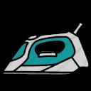 Download Cordless Steam Iron Vector Icon Inventicons
