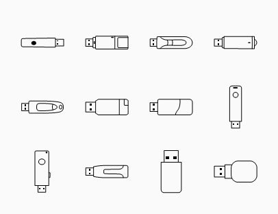 Flash Drive Line Pack