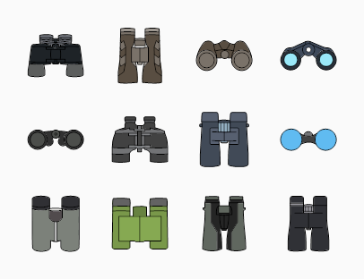 Binoculars Colour Pack