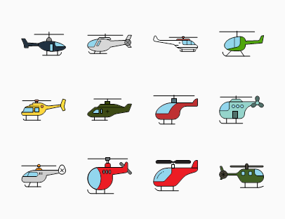 Helicopters Collection