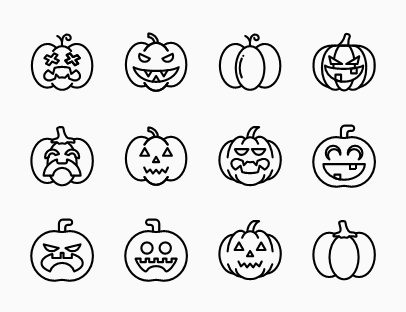 Pumpkin Line Pack