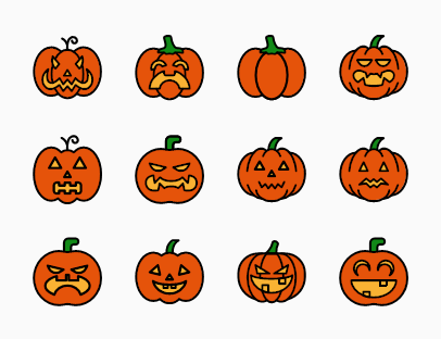 Pumpkin Colour Pack