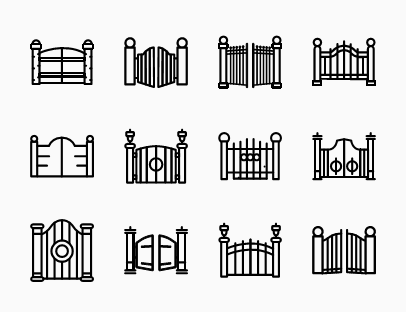 House Gates Collection