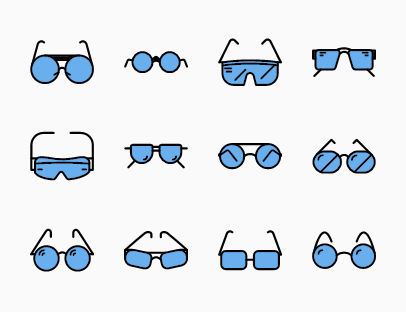 Glasses Colour Pack