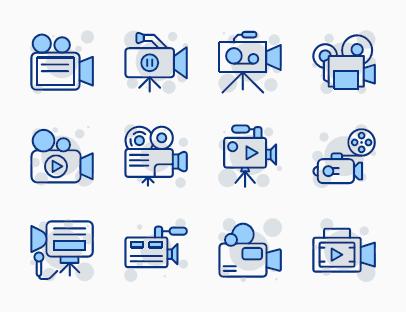 Set of Digital Camcorders