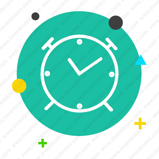 Download get,watch,get up,hour,wake up,alarm Clock icon   Inventicons