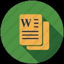 Download Micro Soft Word Vector Icon Inventicons