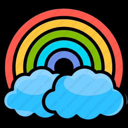 Download Rainbow Vector Icon Inventicons