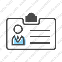 Download Employee Id Vector Icon Inventicons