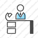 Download Office Employee Vector Icon Inventicons