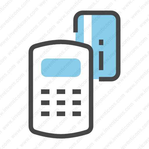Download credit card machine Vector Icon  Inventicons